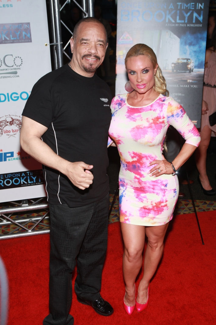 Ice-T and Coco Austin at Once Upon A Time In Brooklyn Film Screening with Cast (Photo by Yoni Levy)