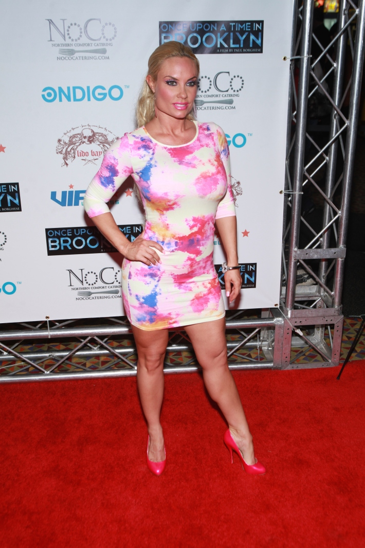 Coco Austin at Once Upon A Time In Brooklyn Film Screening with Cast (Photo by Yoni Levy)