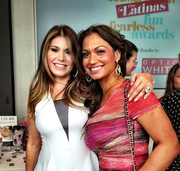 Loren Ridinger attends 2013 Fun Fearless Latina Awards