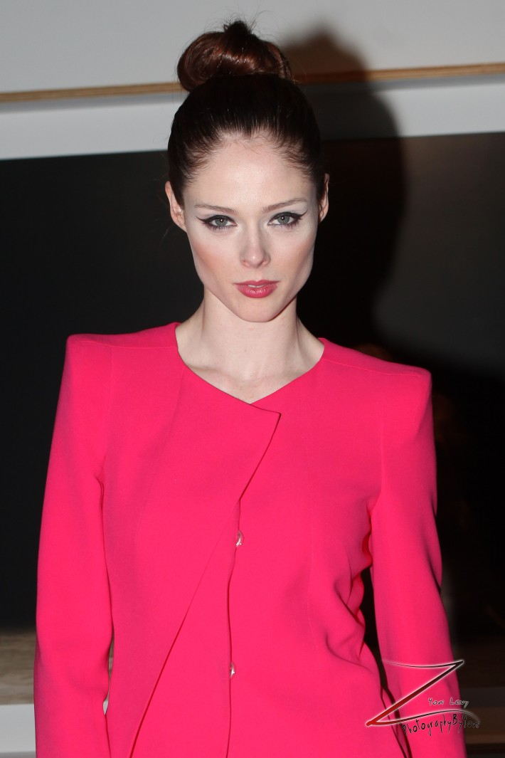 Coco Rocha attends Steven Sebring's REVOLUTION Opening Reception (Photo by Yoni Levy)