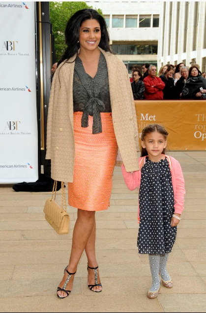 Rachel Roy and daughter, Tallulah Dash attend the 2013 American Ballet Theatre Opening Night Spring Gala (Photo by IvanNikolov)