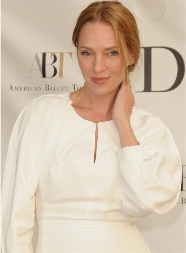 Uma Thurman attends the 2013 American Ballet Theatre Opening Night Spring Gala (Photo by IvanNikolov)