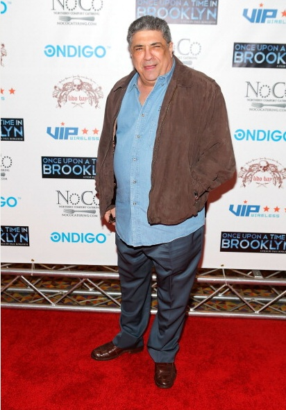 Vincent Pastore at Once Upon A Time In Brooklyn Film Screening (Photo by Yoni Levy)