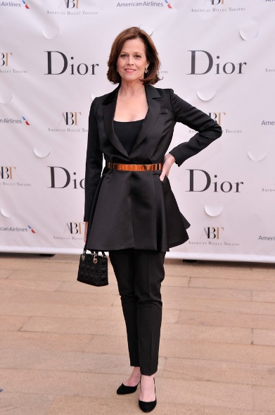 Sigourney Weaver attends the 2013 American Ballet Theatre Opening Night Spring Gala (Photo by StephenLovekin)
