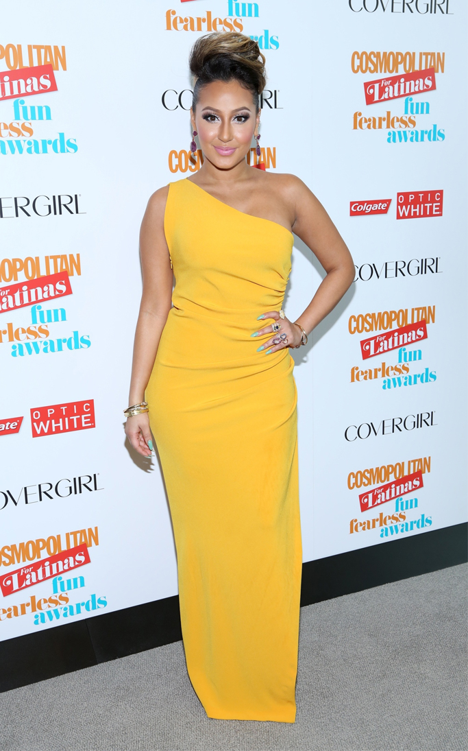 Adrienne Bailon attends 2013 Fun Fearless Latina Awards (Photo by AndresOter)