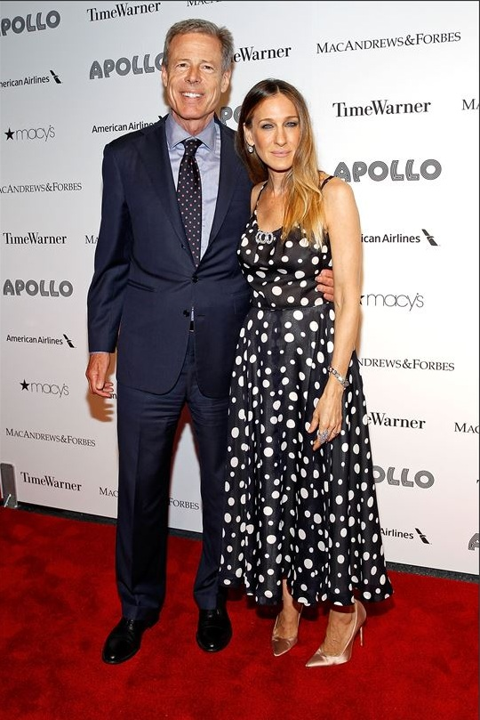 Jeff Bewkes & Sarah Jessica Parker attend The Apollo Theater's 8th Annual Spring Gala Concert