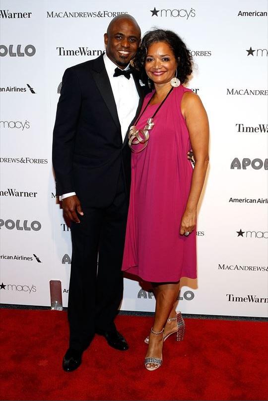 Wayne Brady & Jonelle Procope attends The Apollo Theater's 8th Annual Spring Gala