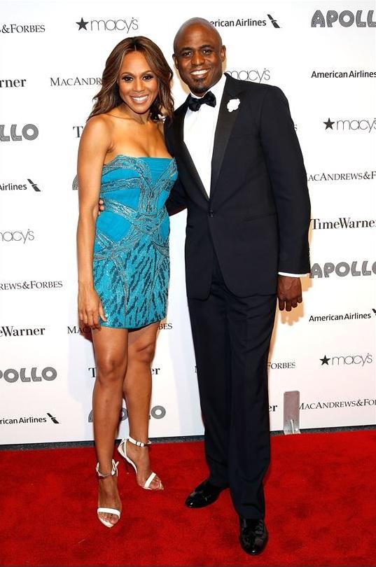 Deborah Cox & Wayne Brady attend The Apollo Theater's 8th Annual Spring Gala Concert Honoring Chaka Khan