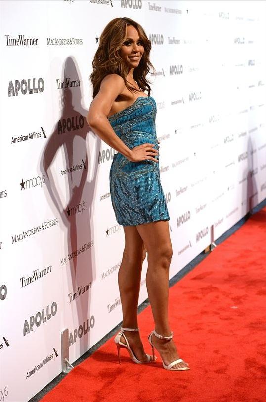 Deborah Cox attends The Apollo Theater's 8th Annual Spring Gala Concert Honoring Chaka Khan