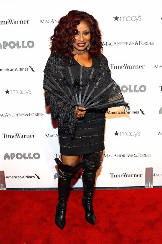 Chaka Khan attends The Apollo Theater's 8th Annual Spring Gala Concert Honoring Chaka