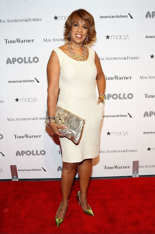 Gayle King attends The Apollo Theater's 8th Annual Spring Gala Concert Honoring Chaka Khan