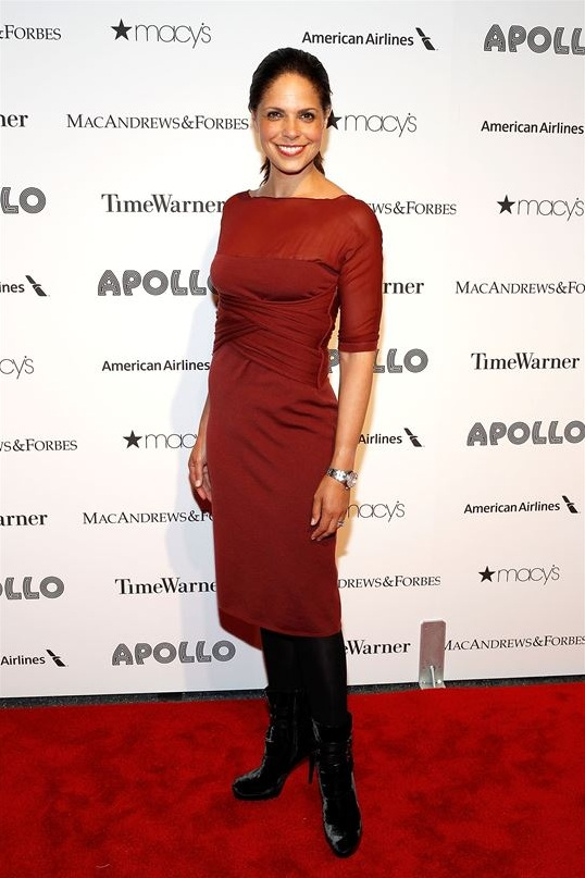 Soledad O'Brien attends The Apollo Theater's 8th Annual Spring Gala Concert