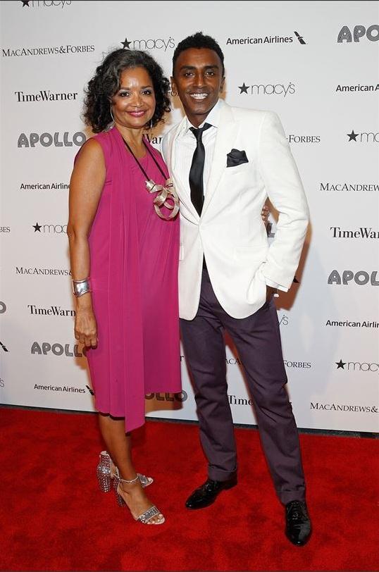 Jonelle Procope & Marcus Samuelsson attend The Apollo Theater's 8th Annual Spring Gala
