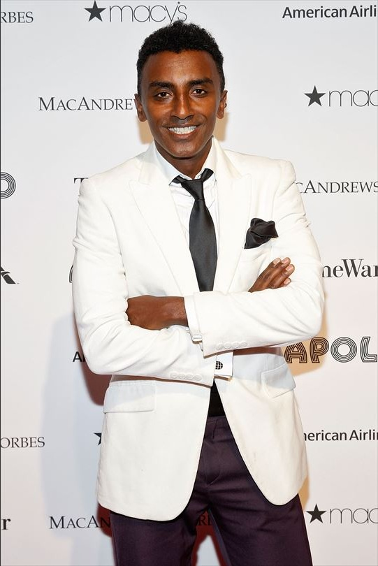 Marcus Samuelsson attends The Apollo Theater's 8th Annual Spring Gala Concert