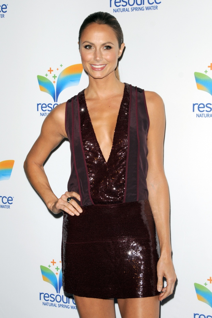 Stacy Keibler.attends Natural Spring Water Resource Launch Event