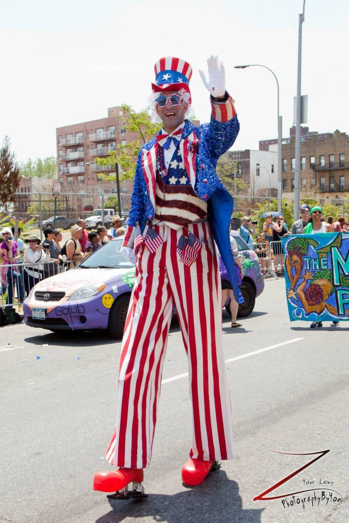 The 2013 Coney Island Mermaid Parade  (Photo by Yoni Levy)