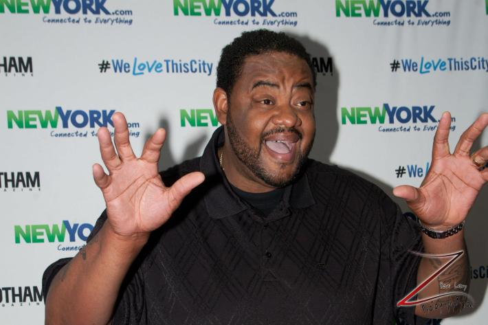 Grizz Chapman attends the NewYork.com Launch Party at Arena (Photo by Yoni Levy)
