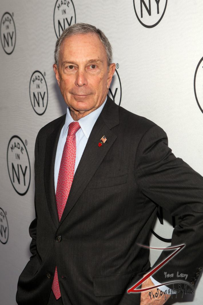 Mayor Michael Bloomberg attends the 8th Annual 'Made In NY Awards' at Gracie Mansion  (Photo by Yoni Levy)