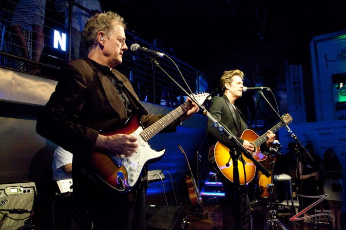 The Bacon Brothers perform at the NewYork.com Launch Party at Arena (Photo by Yoni Levy)