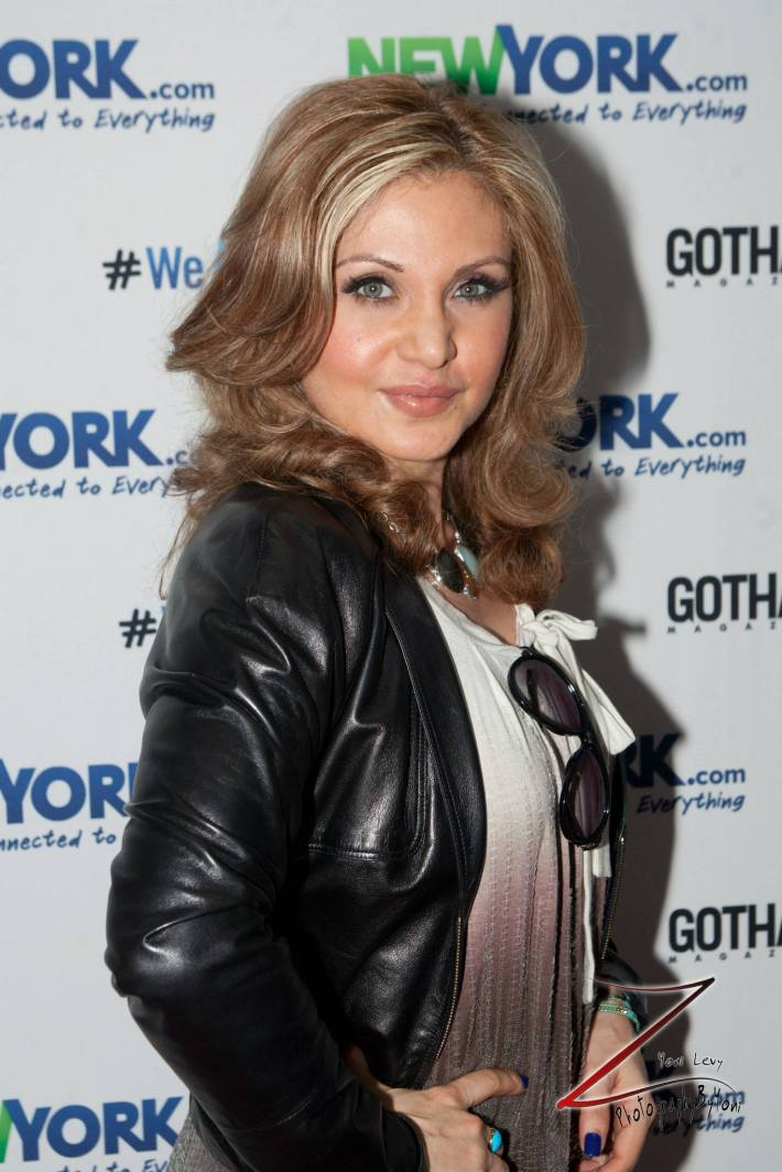 Actress Orfeh attends the NewYork.com Launch Party at Arena (Photo by Yoni Levy)