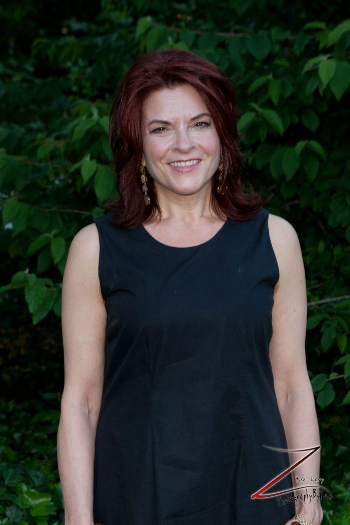 Rosanne Cash attends The New York Restoration Project's 2013 Spring Picnic At Gracie Mansion  (Photo by Yoni Levy)