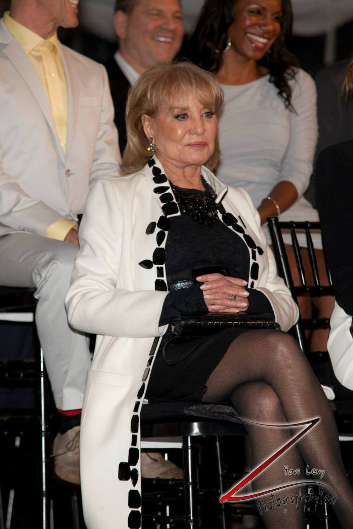Barbara Walters at the 8th Annual 'Made In NY Awards' at Gracie Mansion  (Photo by Yoni Levy)