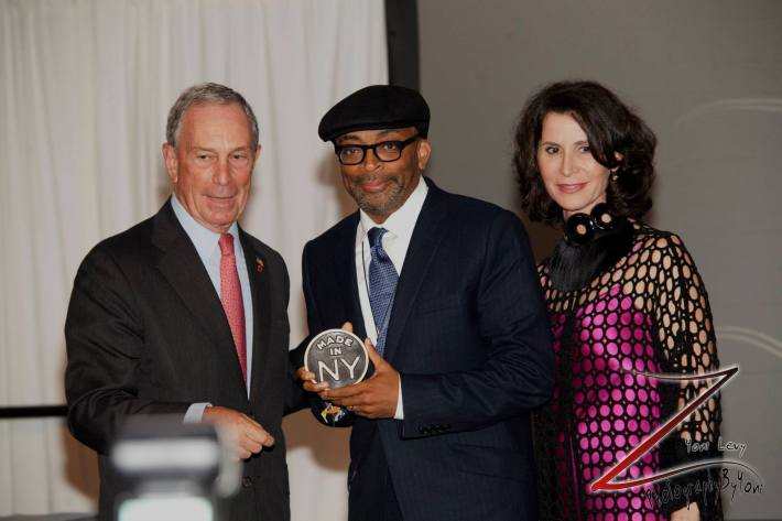 Spike Lee at the 8th Annual 'Made In NY Awards' at Gracie Mansion  (Photo by Yoni Levy)