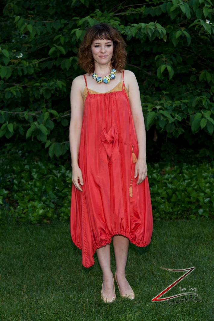 Actress Parker Posey attends the 12th Annual Bette Midler's New York Restoration Project Spring Picnic  (Photo by Yoni Levy)