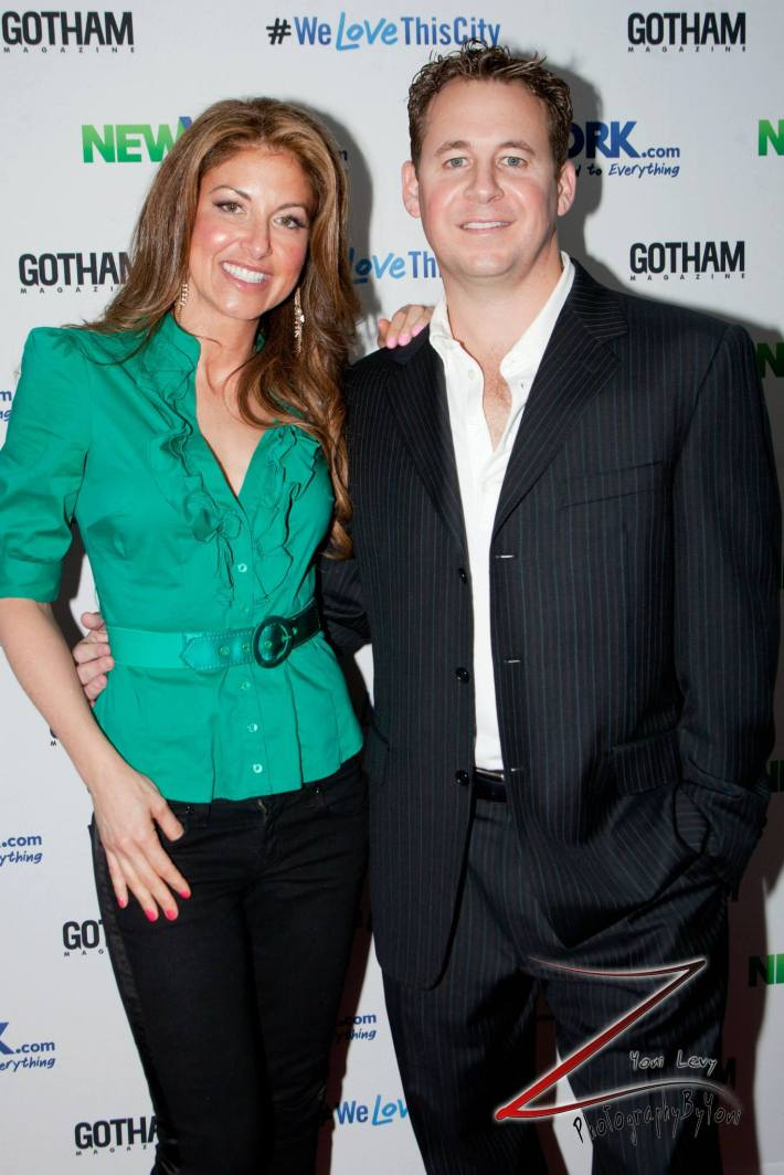 Dylan Lauren, Brett Reizen attends the NewYork.com Launch Party at Arena (Photo by Yoni Levy)
