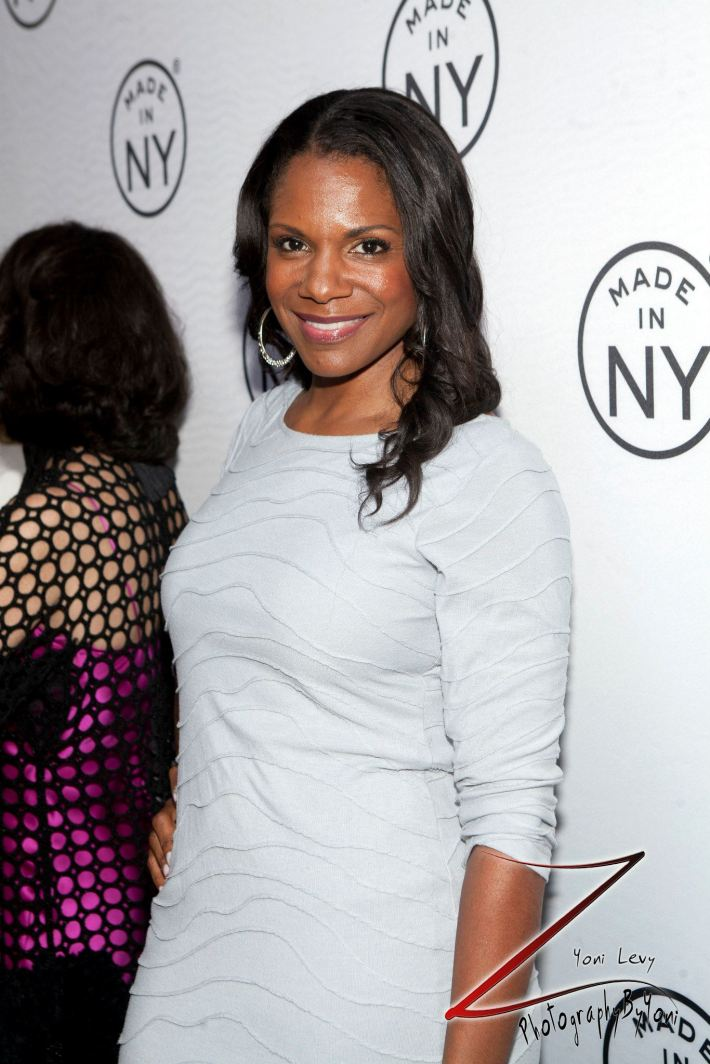 Actress Audra McDonald attend the 8th Annual 'Made In NY Awards' at Gracie Mansion  (Photo by Yoni Levy)