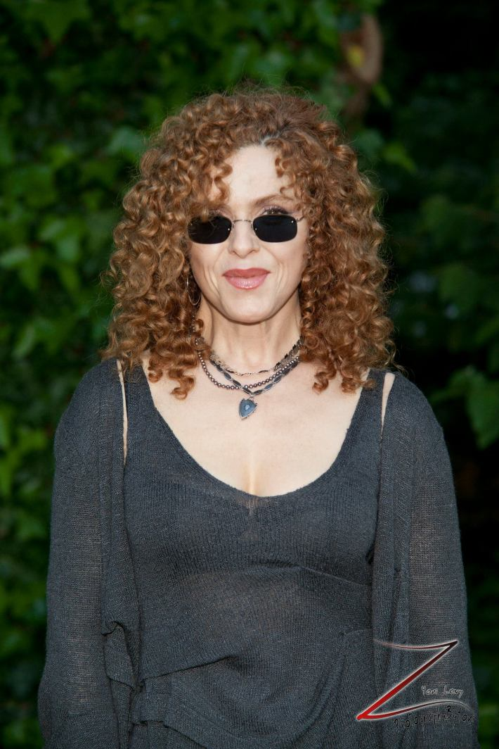 Bernadette Peters attends the 12th Annual Bette Midler's New York Restoration Project Spring Picnic (Photo by Yoni Levy)