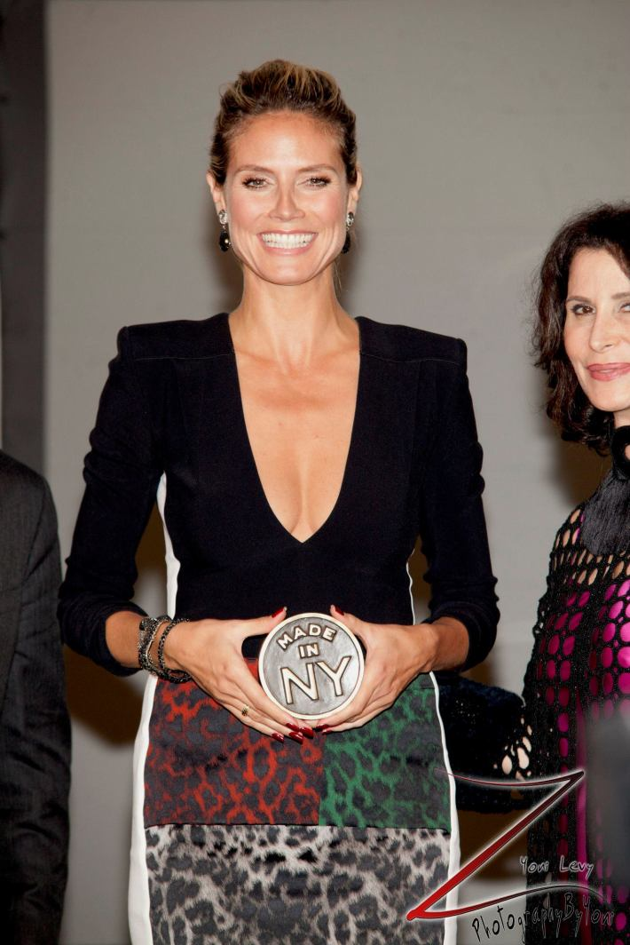 Heidi Klum at the 8th Annual 'Made In NY Awards' at Gracie Mansion  (Photo by Yoni Levy)