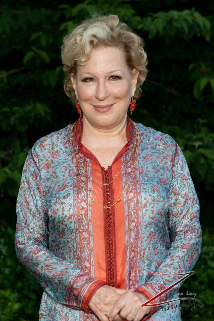 Bette Midler attends The New York Restoration Project's 2013 Spring Picnic At Gracie Mansion (Photo by Yoni Levy)