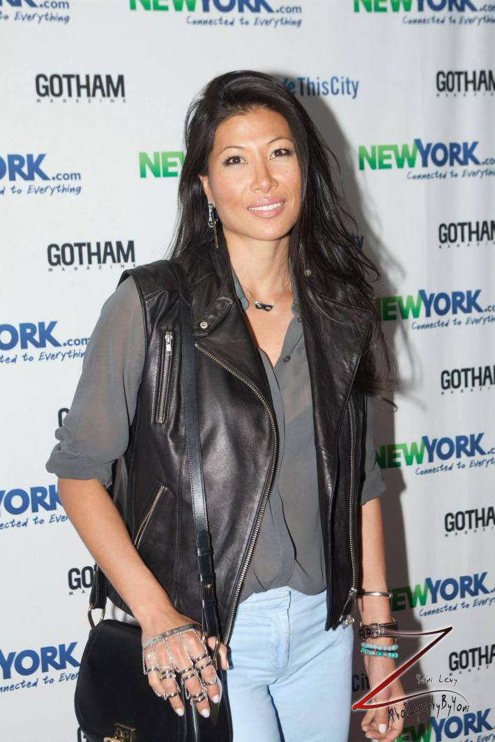 Monika Chiang attends the NewYork.com Launch Party at Arena (Photo by Yoni Levy)