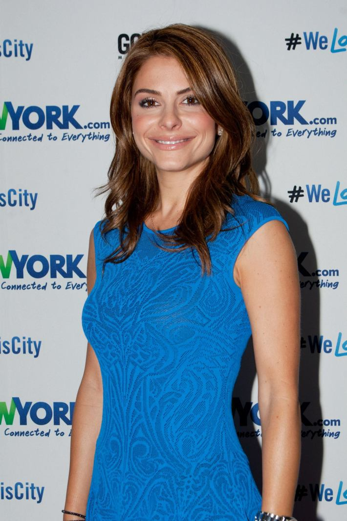 Maria Menounos attends the NewYork.com Launch Party at Arena (Photo by Yoni Levy)