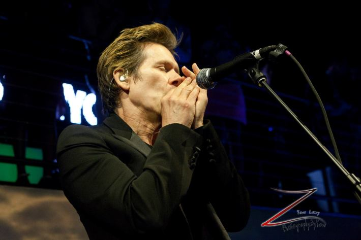 Kevin Bacon performs at the NewYork.com Launch Party at Arena (Photo by Yoni Levy)