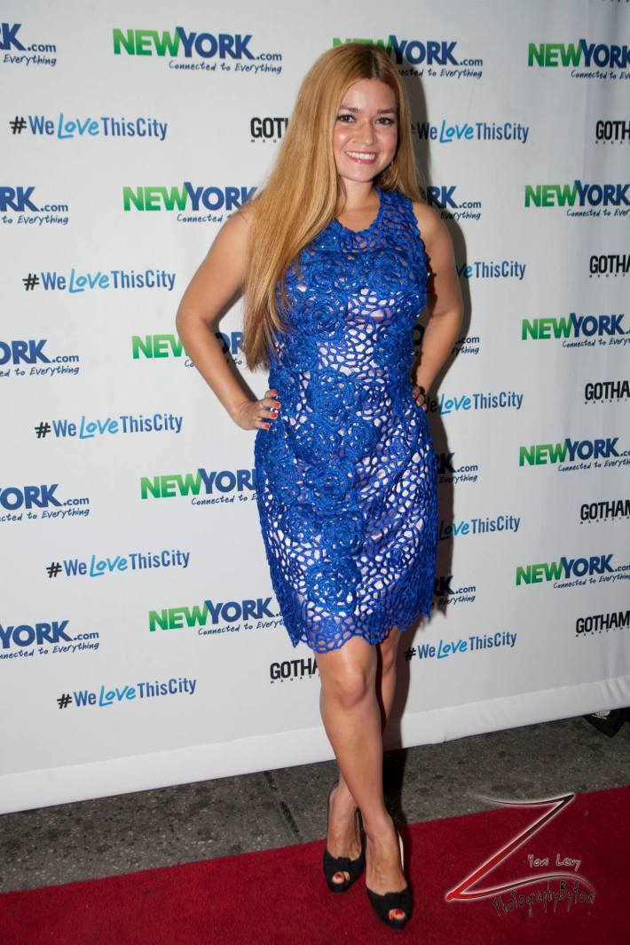 Karen Koeningsberg attends the NewYork.com Launch Party at Arena (Photo by Yoni Levy)