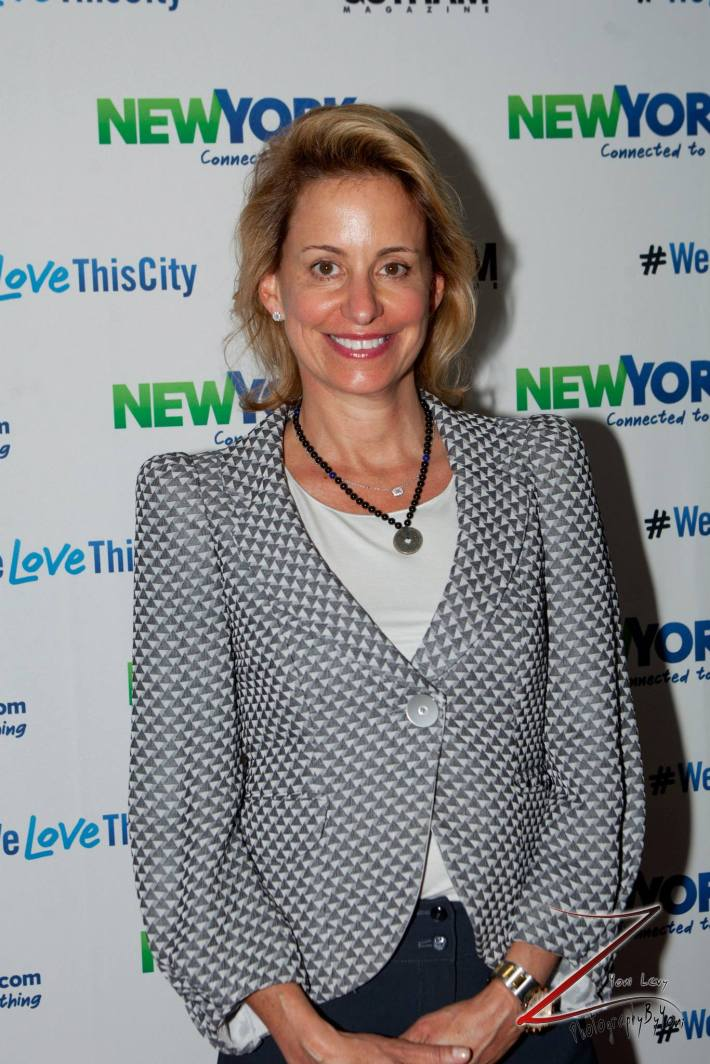 Toni Haber attends the NewYork.com Launch Party at Arena (Photo by Yoni Levy)