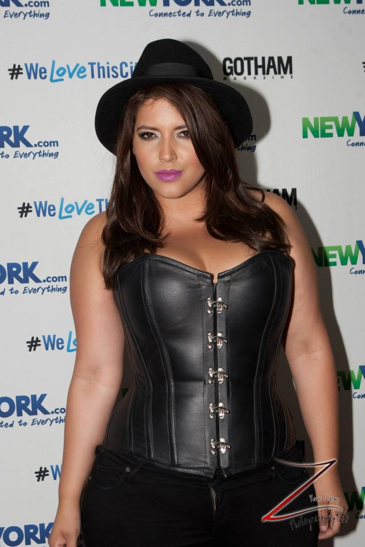 Denise Bidot attends the NewYork.com Launch Party at Arena (Photo by Yoni Levy)