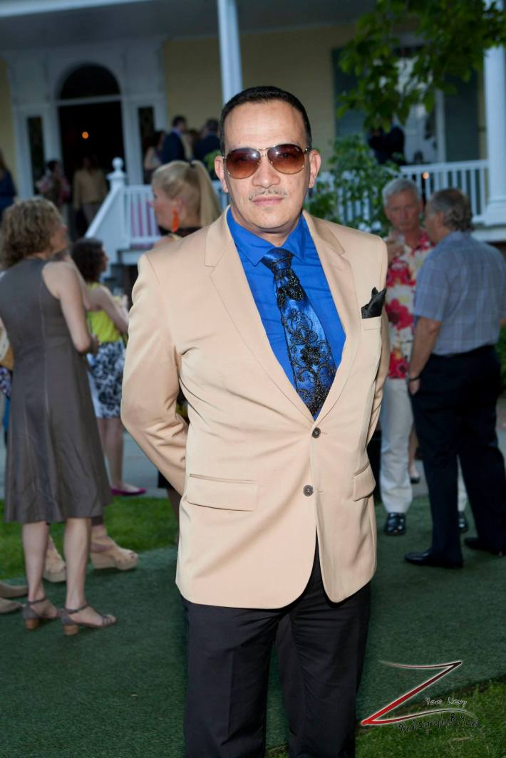 Designer Anthony Rubio attends  the 12th Annual Bette Midler's New York Restoration Project Spring Picnic  (Photo by Yoni Levy)