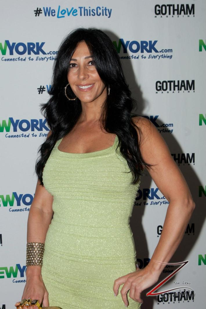 Carla Facciolo attends the NewYork.com Launch Party at Arena (Photo by Yoni Levy)