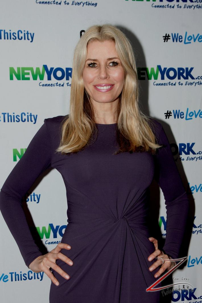 Aviva Drescher attends the NewYork.com Launch Party at Arena (Photo by Yoni Levy)