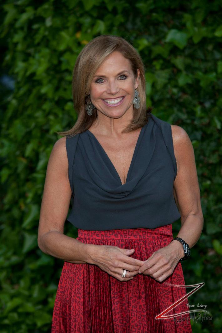 Katie Couric attends the 12th Annual Bette Midler's New York Restoration Project Spring Picnic  (Photo by Yoni Levy)