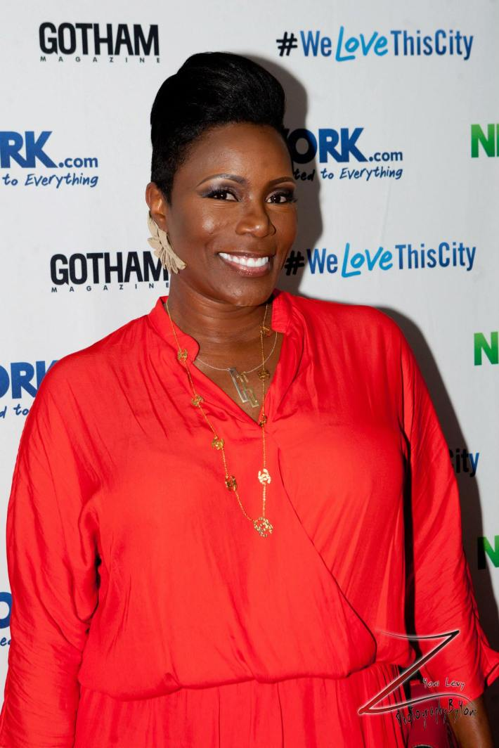 Actress Sommore attends the NewYork.com Launch Party at Arena (Photo by Yoni Levy)
