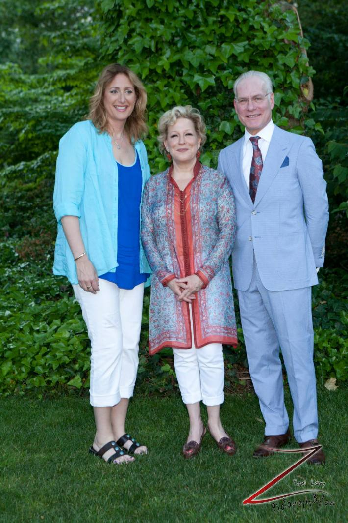 Judy Gold, Bette Midler, Tim Gunn attend the 12th Annual Bette Midler's New York Restoration Project Spring Picnic  (Photo by Yoni Levy)