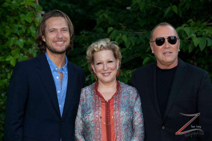 Lance Lepere, Bette Midler and Michael Kors at the 12th Annual Bette Midler's New York Restoration Project Spring Picnic  (Photo by Yoni Levy)
