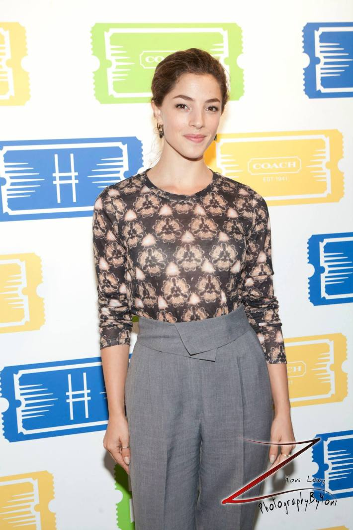 Actress Olivia Thirlby attends COACH's 3rd Annual Summer Party (Photo by Yoni Levy)