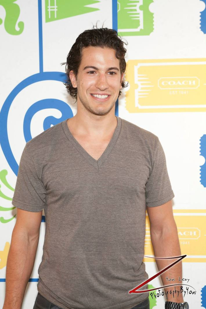 New York Ranger Michael Del Zotto    attends COACH's 3rd Annual Summer Party (Photo by Yoni Levy)