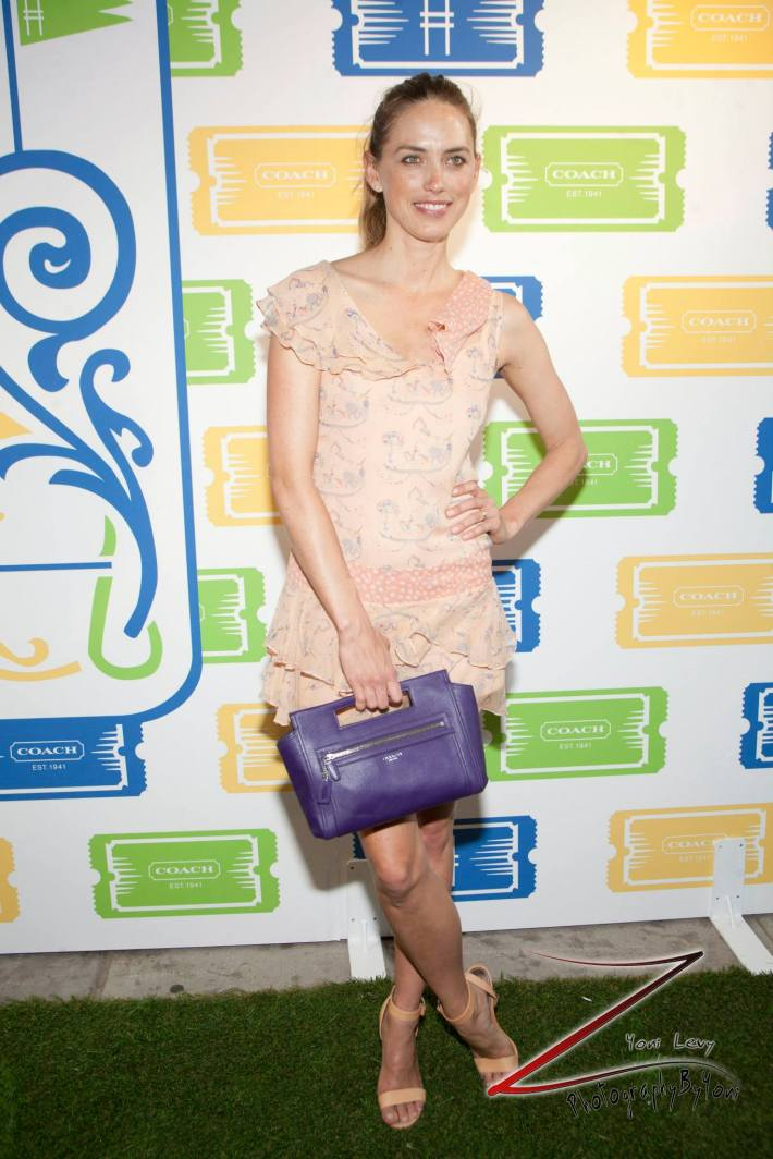 Model Leilani Bishop attends COACH's 3rd Annual Summer Party (Photo by Yoni Levy)