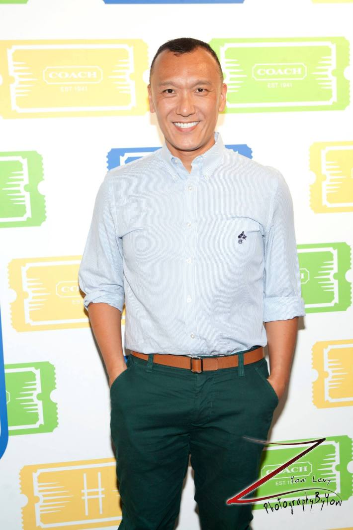 Creative director of  Elle Magazine  Joe Zee attends COACH's 3rd Annual Summer Party  (Photo by Yoni Levy)